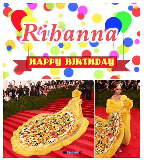 Happy Birthday for 20 February   Please join us because we love pizzas as much as you do!