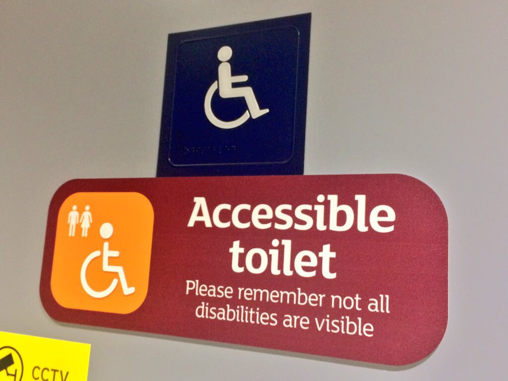 not all disabilities are visible - HD1024×768
