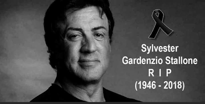 Sylvester Stallone Is Not Dead https://t...