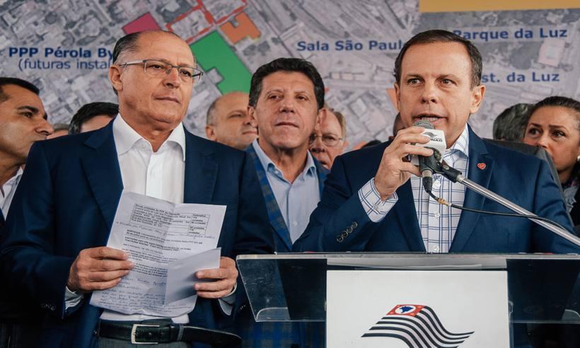 Alckmin diz não haver pressa para escolha de candidato em SP https://t.co/A1U8F6EteP