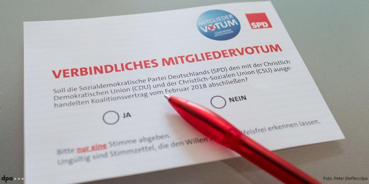 Nächster Nackenschlag kurz vor dem Mitgliedervotum: AfD in Umfrage erstmals vor der SPD https://t.co/J88IonPNCX @merkur_de (fho)