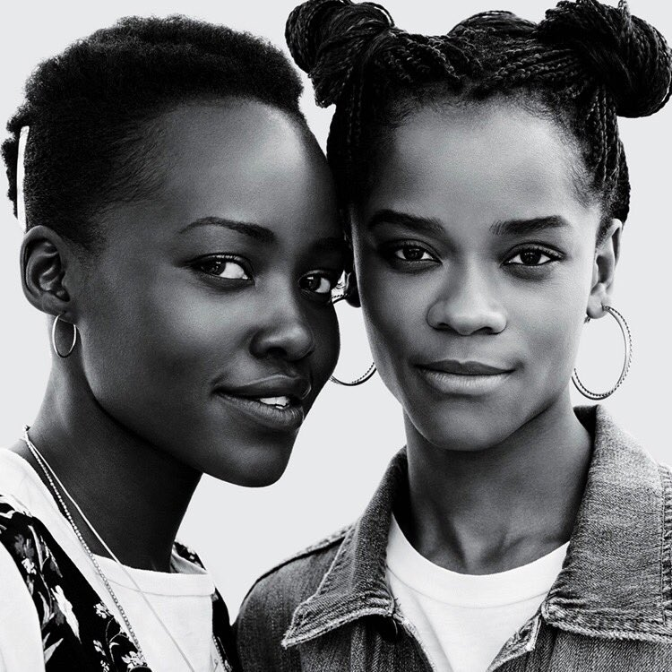 RT @itsBethanyDani: Letitia Wright and Lupita Nyong'o for Teen Vogue 🖤 https://t.co/OgdDRQWfNF