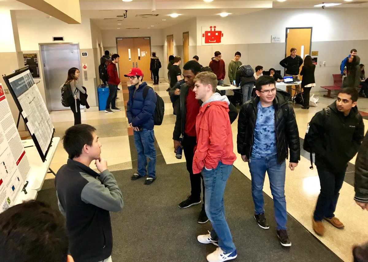 CS research and club presentations - a first-look fair for @umdcs is going on right now in the CSIC lobby. Come learn what CS research is, what clubs are up to, and how you can get involved!