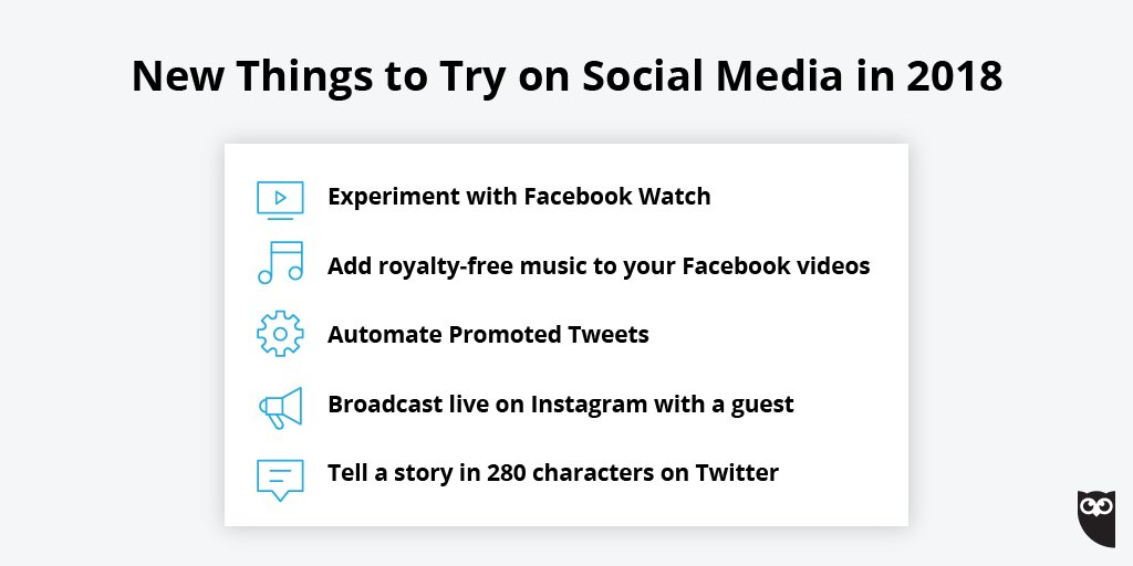 Are you doing anything new with your social media strategy this year? Here are 14 exciting updates to try: ow.ly/Nzm530is4TT