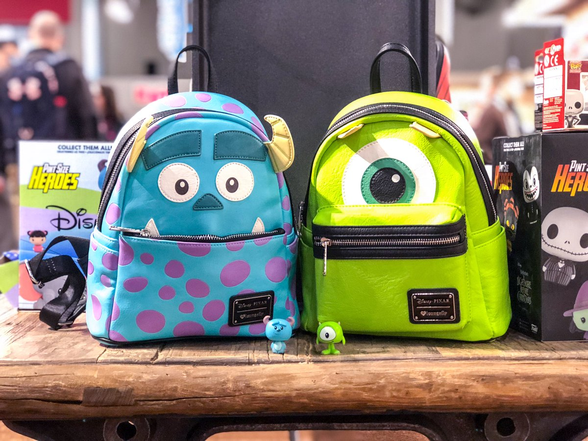 These Sulley & Mike @loungefly mini...