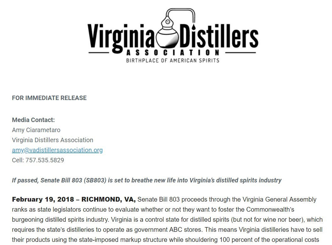 "virginia spirits on twitter: ""please help us spread the word by"
