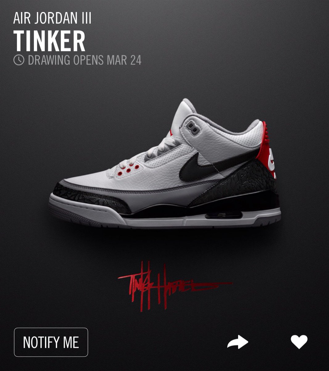 0ff45244682 ... usa j23 iphone app on twitter jordan 3 retro nrg tinker will be a draw  on