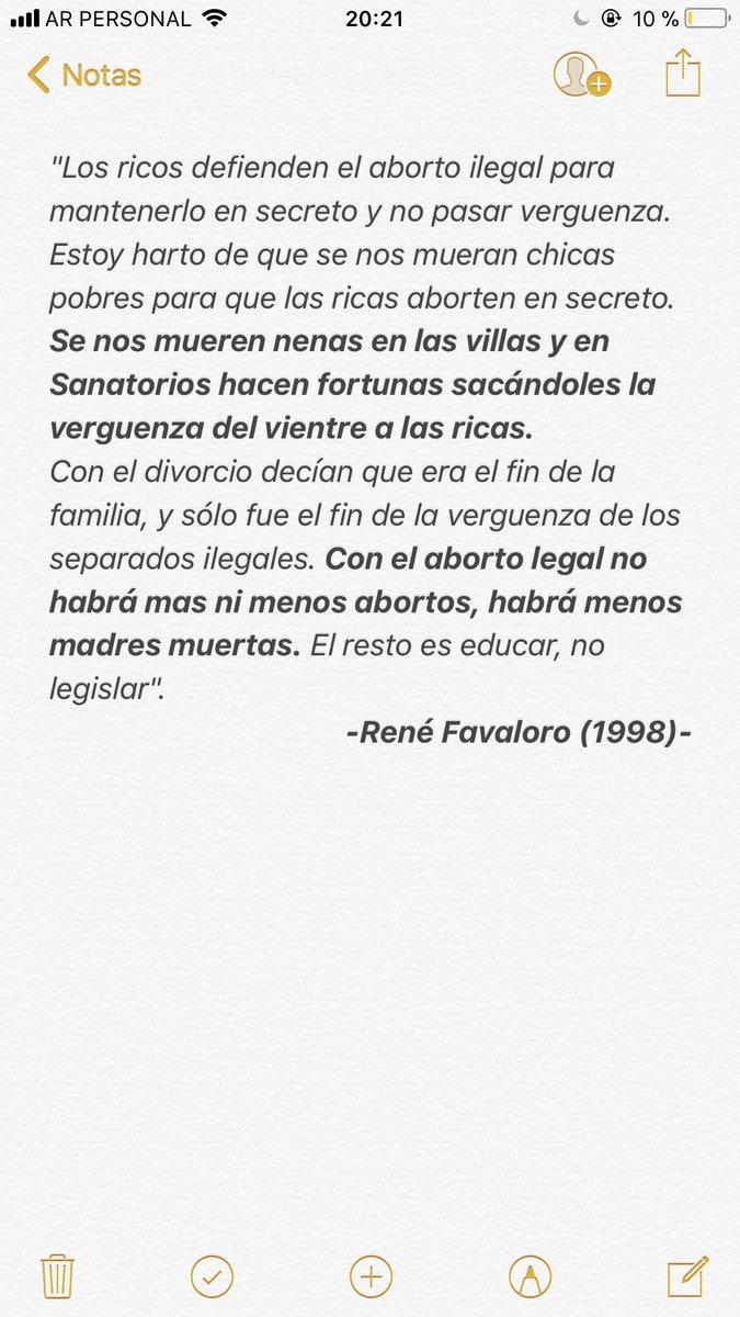 Simples palabras de un maestro. #AbortoL...