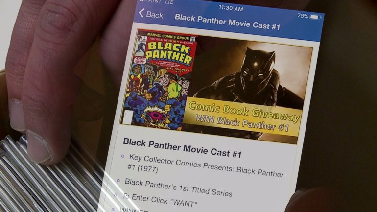 'It embraces new collectors:' This mobile app is world's 1st comic book database: https://t.co/mSIzykQ1Ms