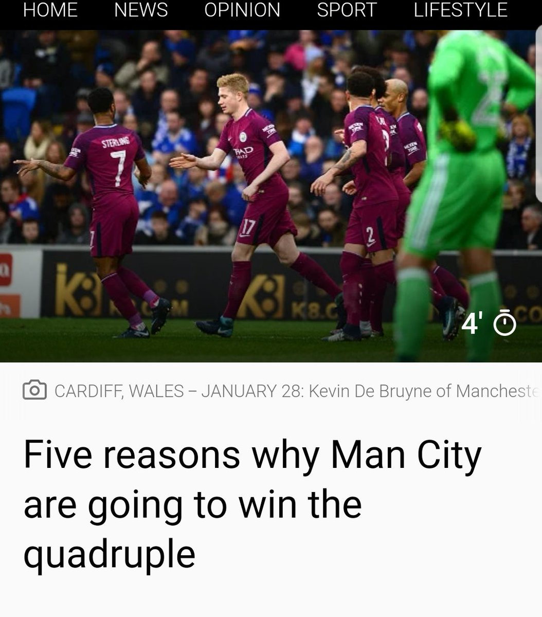 One reason why they won't: Wigan https:/...