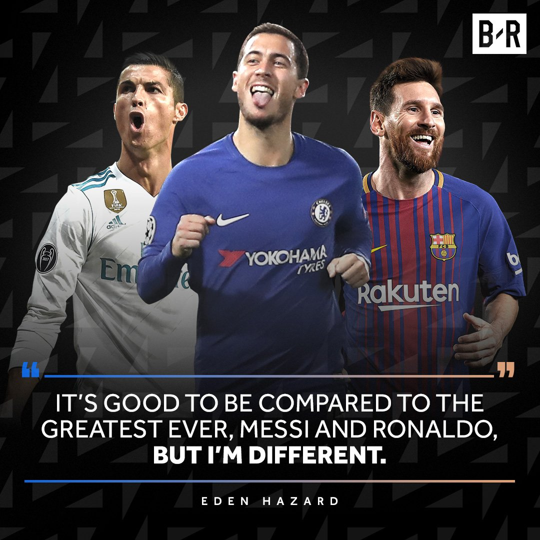 Hazard's different 💯