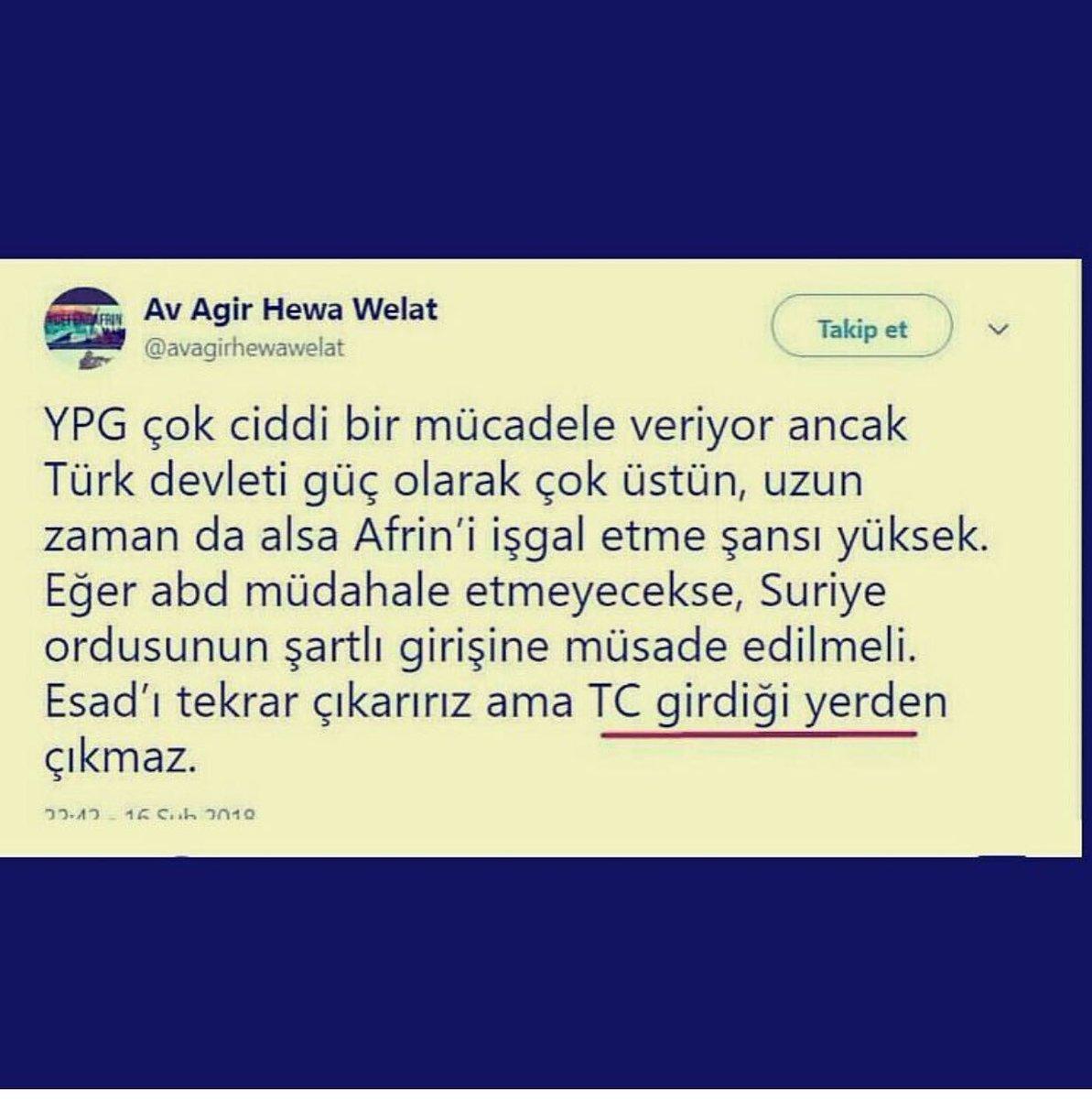 Düşman hewaller Türk'ün gücünün farkında...