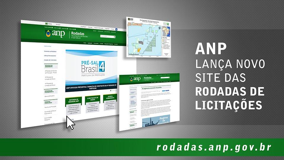 Resultado de imagem para ANP lança novo site das rodadas de licitações