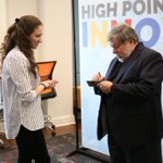 This afternoon, Steve Wozniak met with students and signed their iPhones and laptops! 🍎 #AccessToInnovators #HPU365 #HPUFamily #HeroesModelsMentors #HPUInnovationSummit