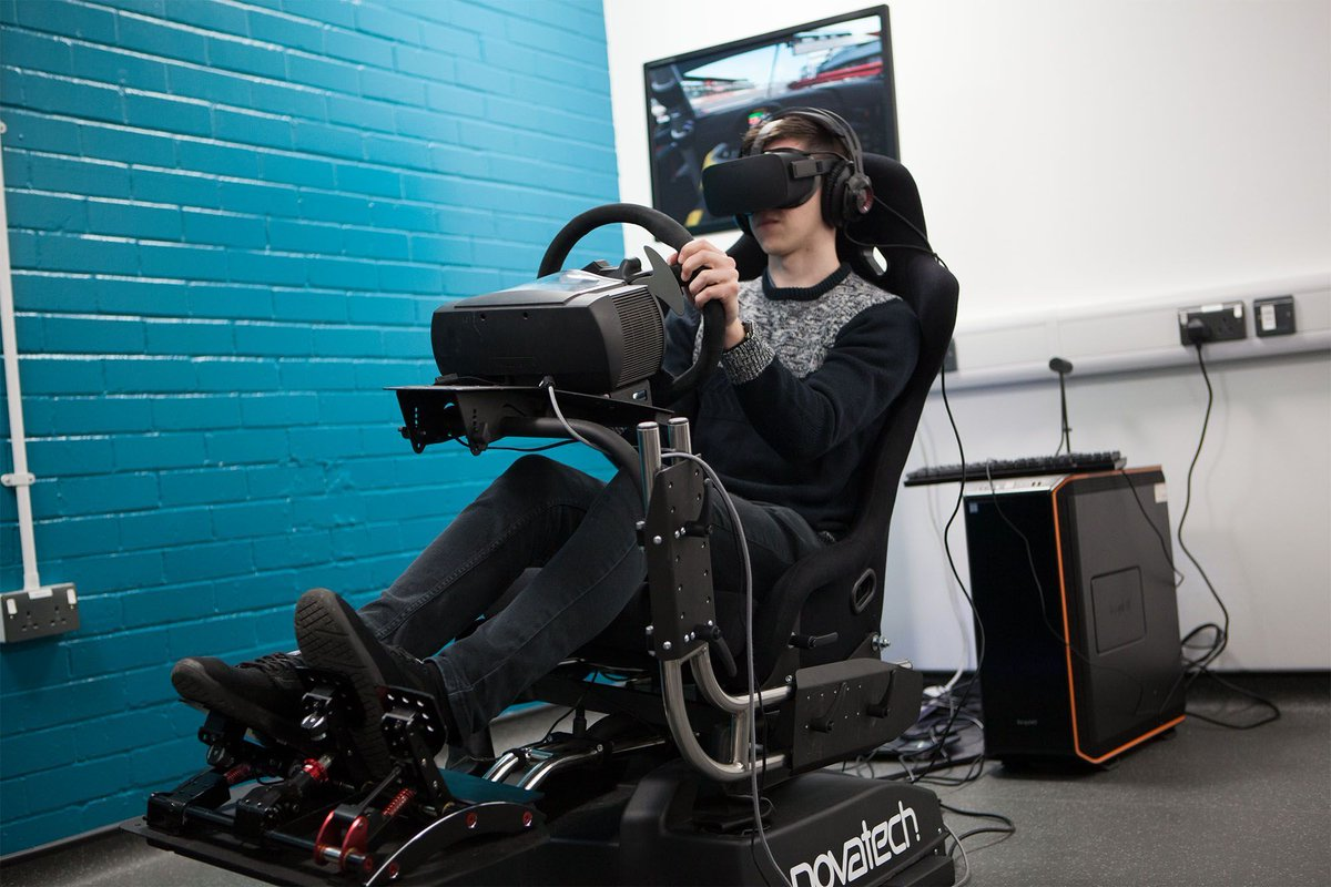 Super excited to be working with @NovatechLtd on their new Atomic A3 chair! Such an awesome bit of kit - Motion and VR!! Not to mention that's my pre-season testing sorted😏👍 #TeamBTR
