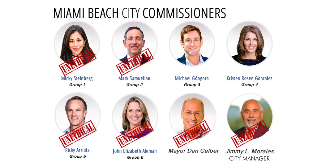 Now we know the kind of mayor @DanGelber is: UNETHICAL. We knew @MickySteinberg @samuelian_mark@RickyArriolaMB @JohnAlemanMB @CityManagerMB  were compromised but it's a shame about Gelber. Thanks@rosengonzalez  and@MichaelGongora  for doing the right thing:https://t.co/rIjC0QaBcj