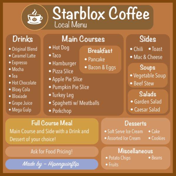 Coffee Shop Food Menu Ideas