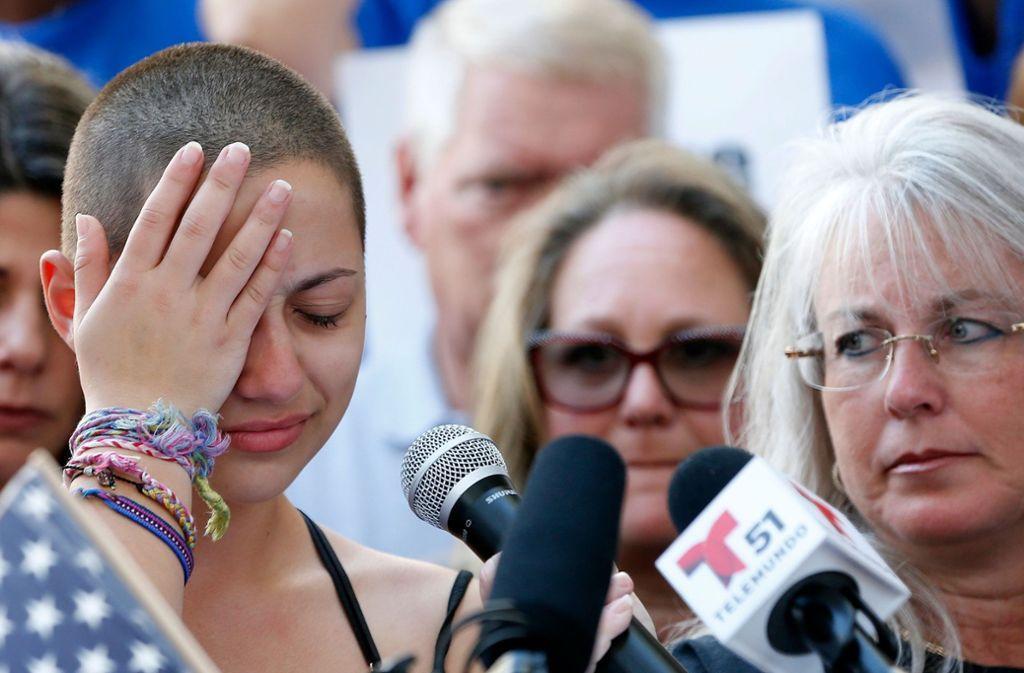 Nach dem Schulmassaker in Florida: Eine Schülerin rüttelt die USA auf stuttgarter-zeitung.de/inhalt.nach-de…