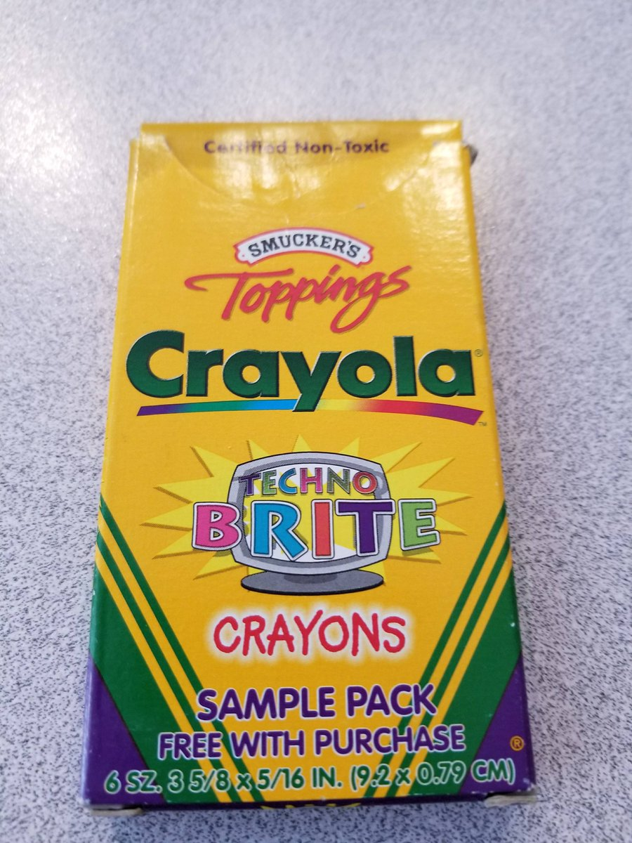 Foone Auf Twitter Along With My New Crayola Techno Brite Crayons Is It Weird That Two Of Pickups This Last Week Were Related
