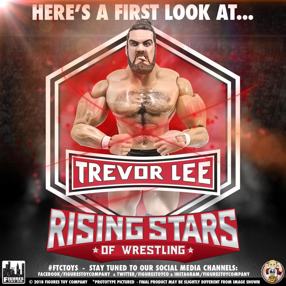 Later this year, were unleashing one of the hottest high fliers in wrestling onto your action figures! Prepare for the arrival of the first ever @TLee910 figure! @IMPACTWRESTLING @OfficialPWG #toyspotting #figlife