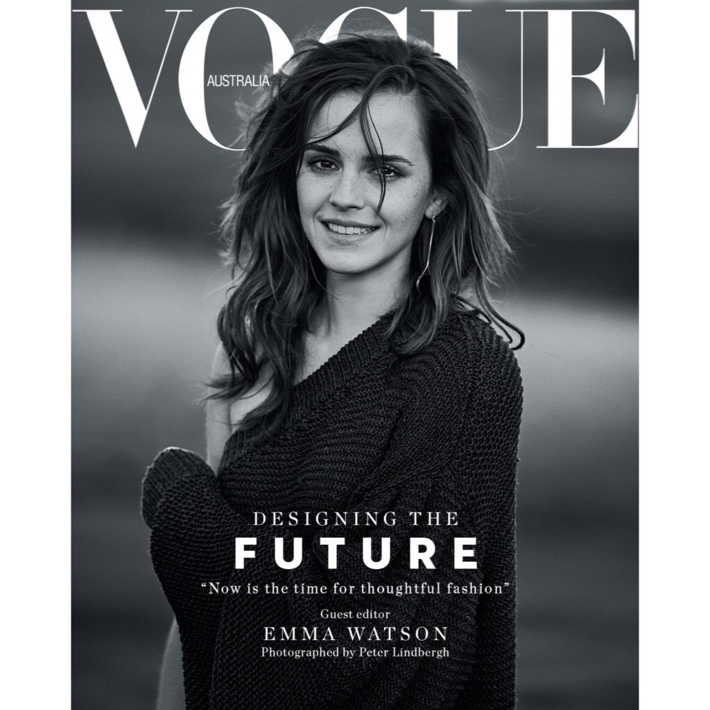 "I helped guest edit @vogueaustralia's March issue dedicated to conversations about sustainability and ""Designing the Future"".   I am so proud of this! @EdwinaMcCann thank you for making my editing dreams come true. Link in my bio to read my guest editor letter."