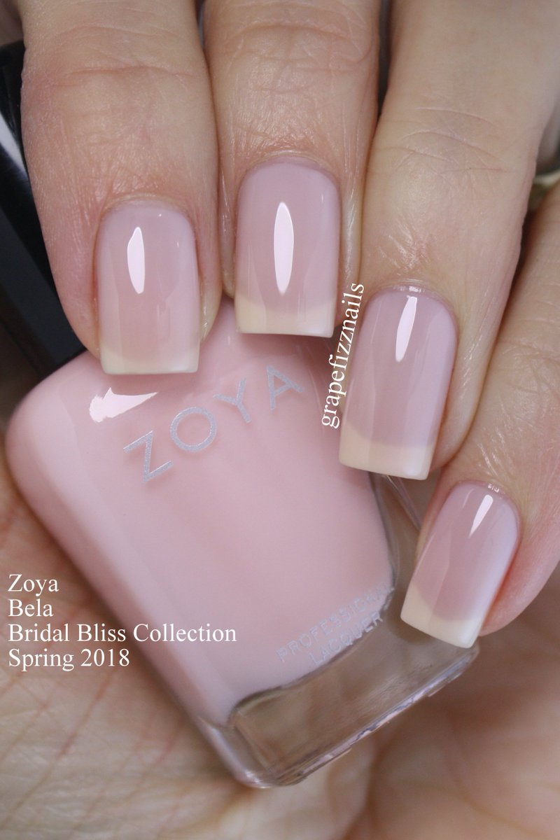 ZOYA Nail Polish On Twitter RT GrapeFizzNails ZoyaNailPolish A Few Beauties From The Bridal Bliss Collection 2018 Tco Uk2WasR8L2