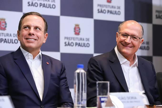 Alckmin e Doria afinam discurso e PSDB terá candidato em SP https://t.co/MgfvUMTBQO