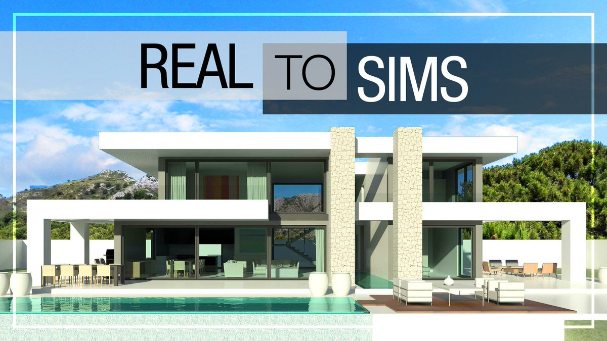 House no cc download link https youtu be 3ktpdgec4di via youtube thesims thesims4 sims sims4 modern house build youtube video youtuber