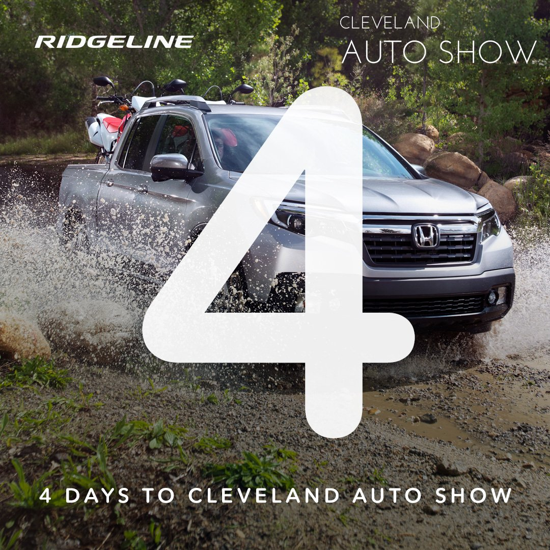 Honda Dealers Cleveland >> Ohio Honda Dealers On Twitter Visit Us At The Cleautoshow Feb