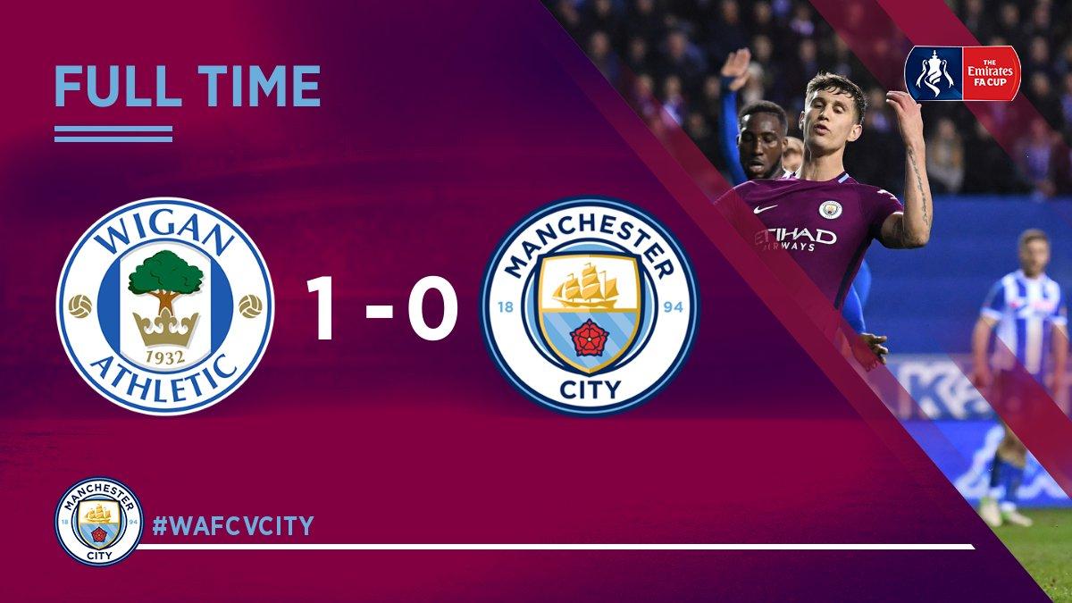 Chấm điểm: Wigan 1-0 Manchester City