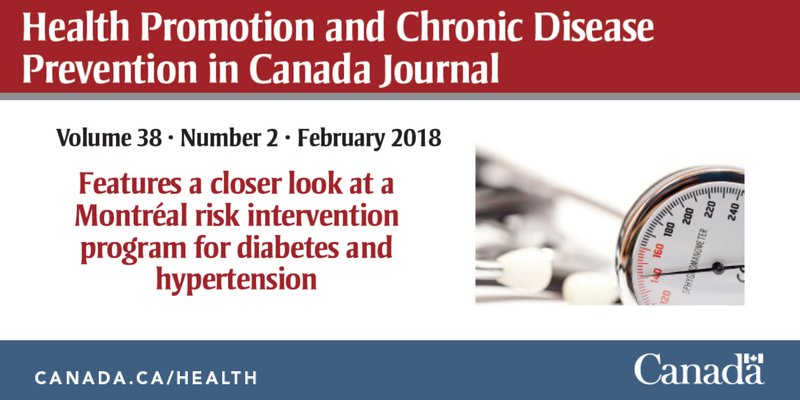A Montreal chronic care program delves into what influences health outcomes for patients with #diabetes and #hypertension. See their findings in the latest #HPCDP Journal: https://t.co/RfaBLcyFHL