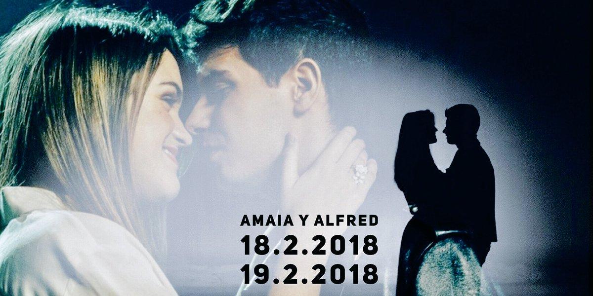 PostOT. Hilo de momentos de Amaia y Alfr...