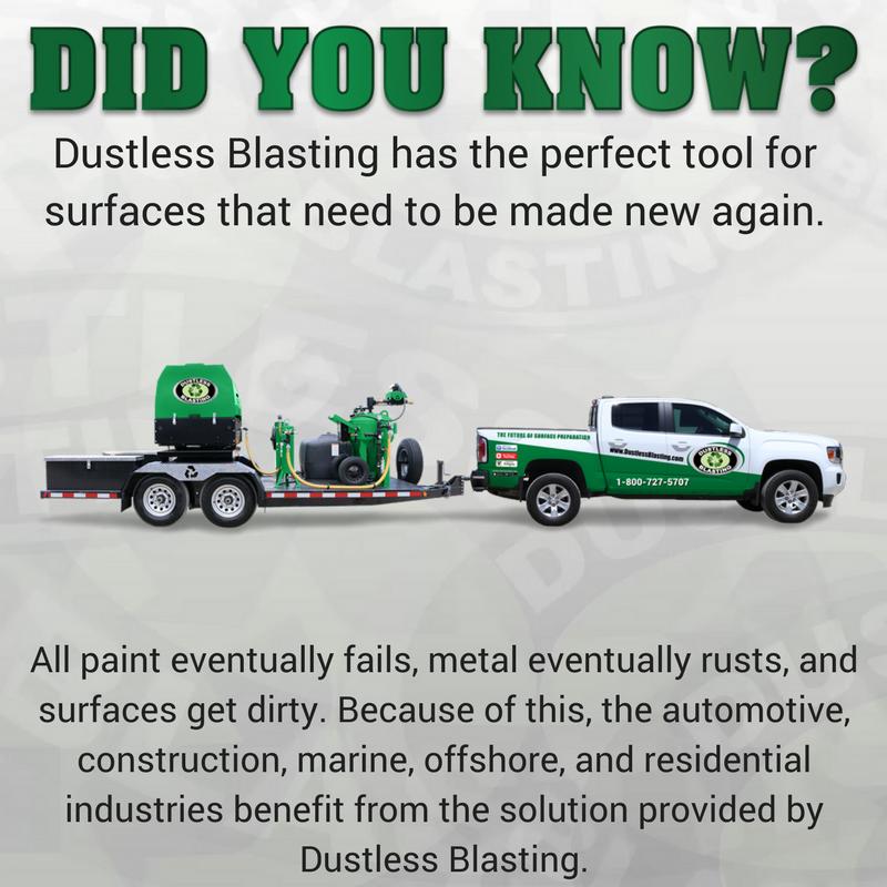 Dustless Blasting on Twitter: