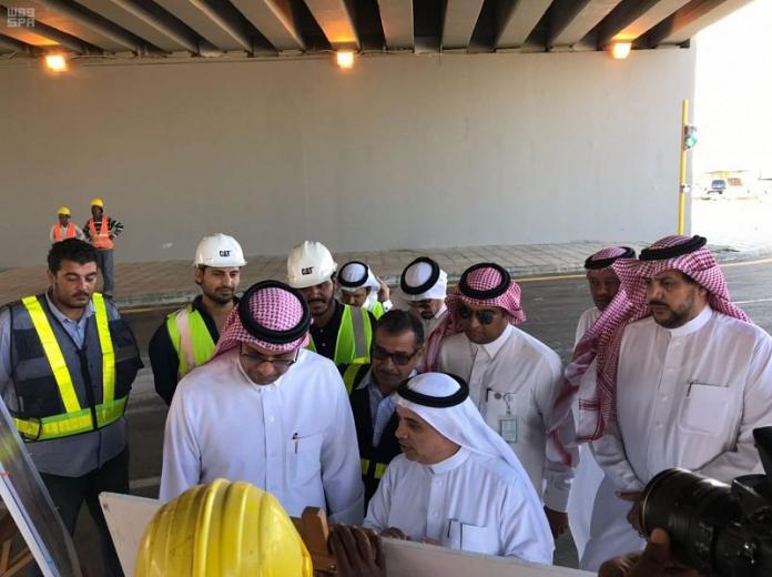 نائب وزير النقل يتفقد طرق منطقة #مكة_الم...