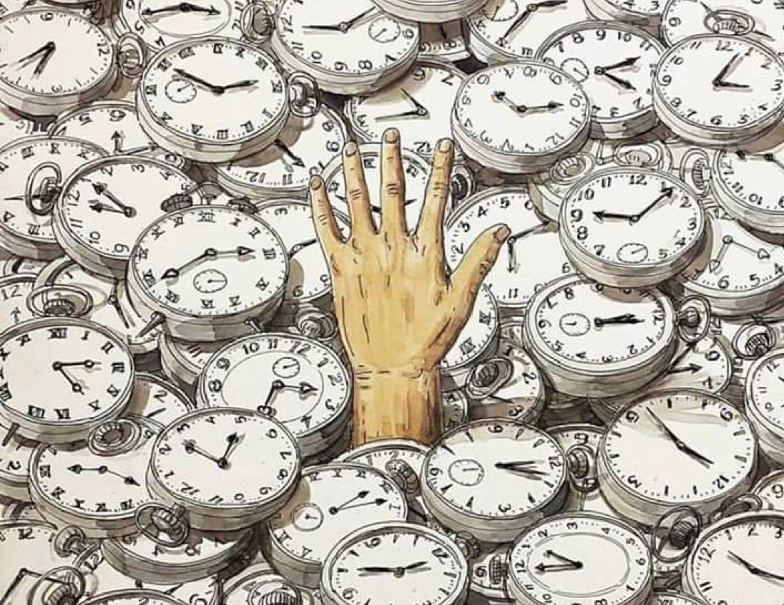 sometimes, time is too much...  #LongWee...