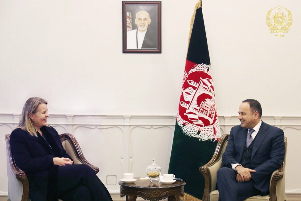 With Amb of Narway to Afghanistan, H.E. Ms. Mari Skåre, I discussed preparations for follow up meeting of Brussels conference set to be held in Geneva.