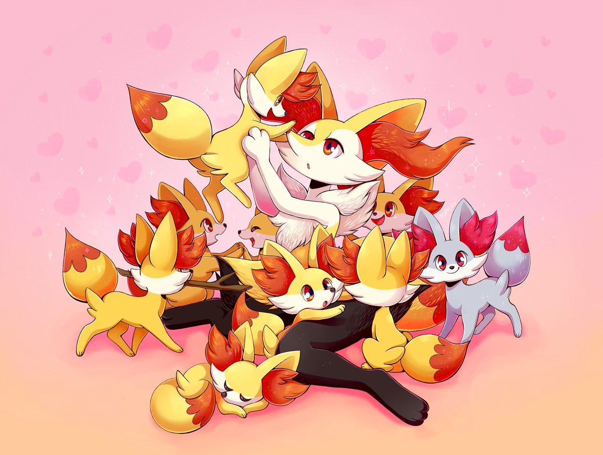 A pile of foxes!! 💕#pokemon https://t.co...
