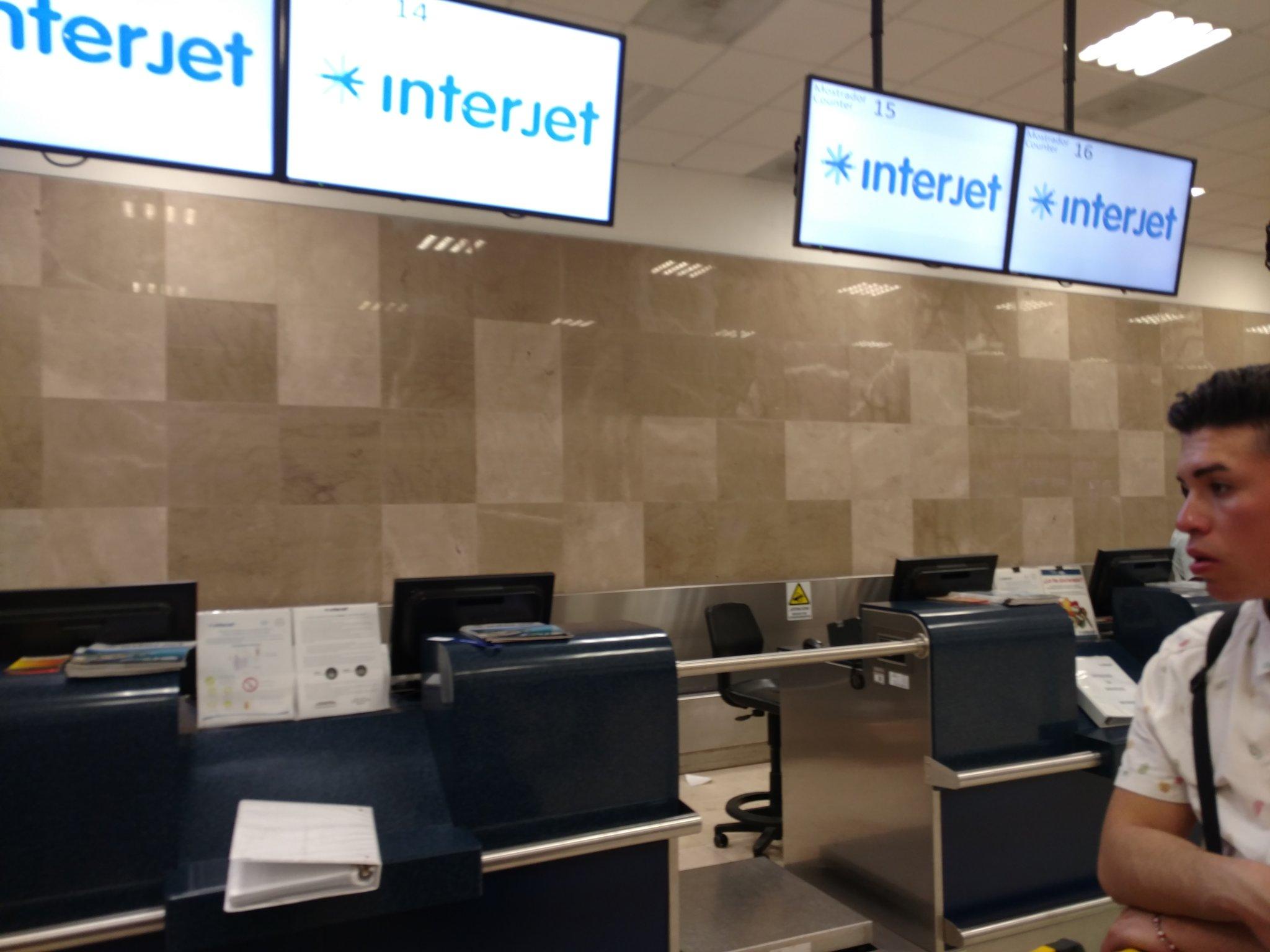Interjet suspende vuelos en Veracruz durante pandemia de COVID-19