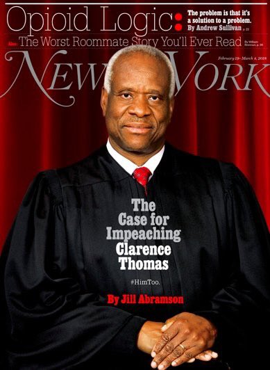 New cover of @NYMag: The case for impeac...