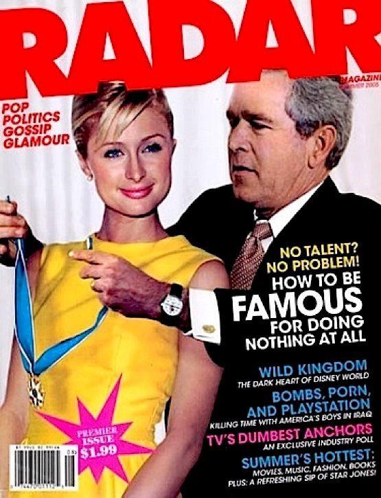#HappyBirthday #ParisHilton #RadarMagazinePremierIssue #ParisHiltonRadarMagazine #Year2005  #1 Promo Mint #PresidentBushParisHilton Rare https://www.ebay.com/itm/121792580754…pic.twitter.com/FcpnSSXRuk
