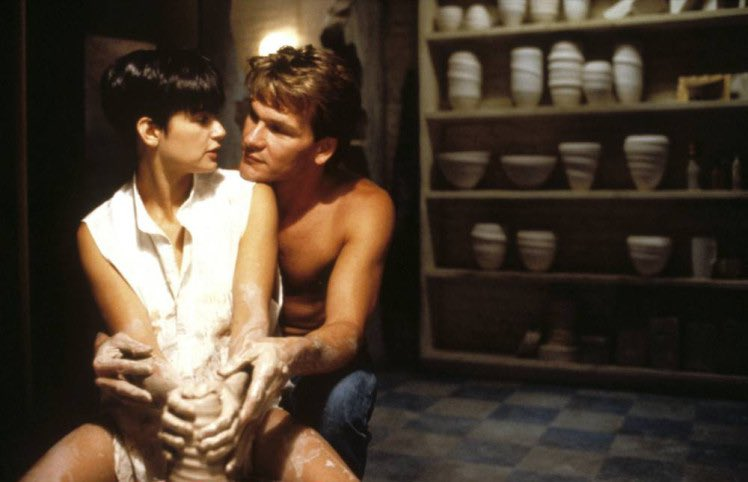 #UnlikelyGhostActivities        Pottery...