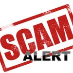 Image for the Tweet beginning: There are scammers in our