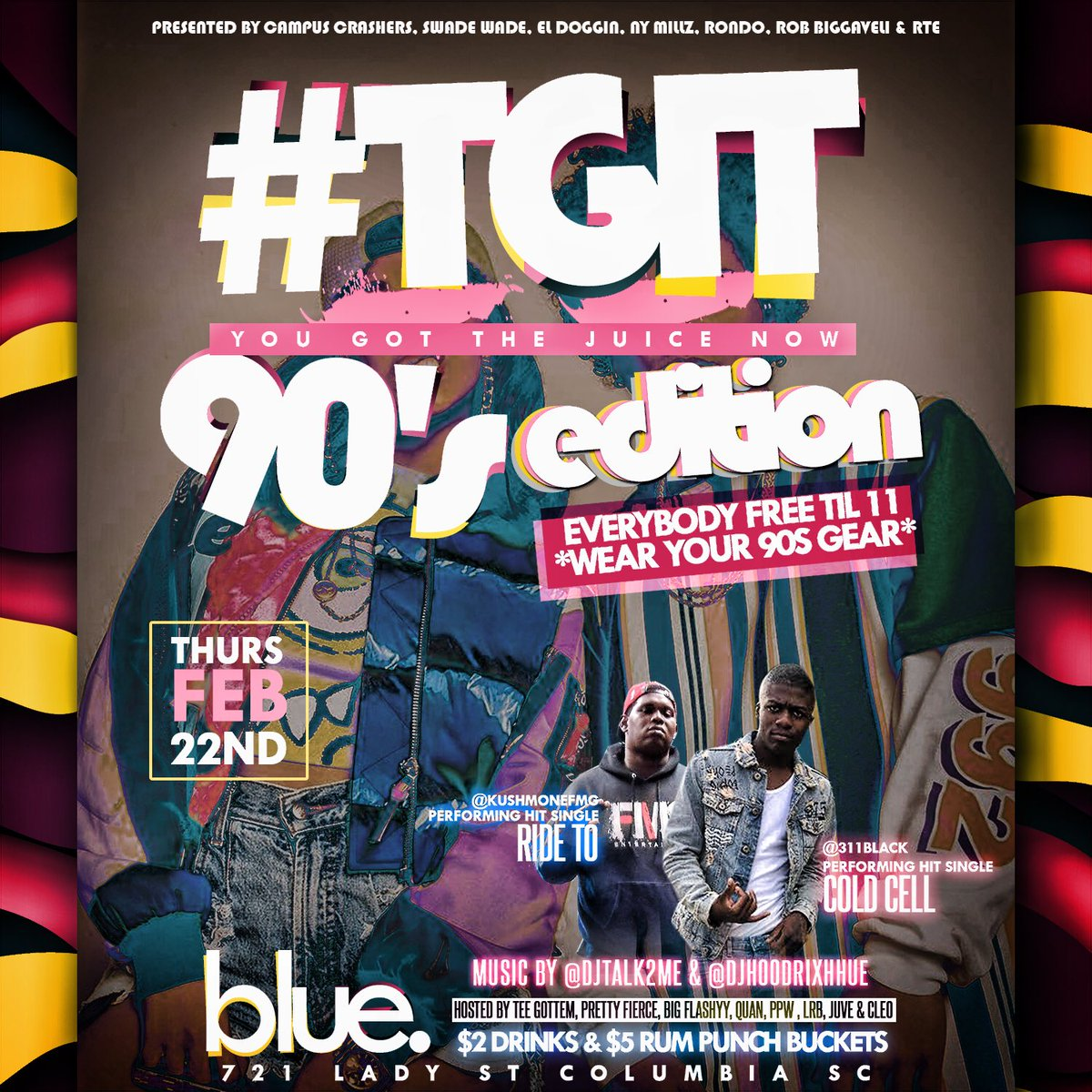 @_NayannBrenay 90s EDITION THIS THURSDAY...
