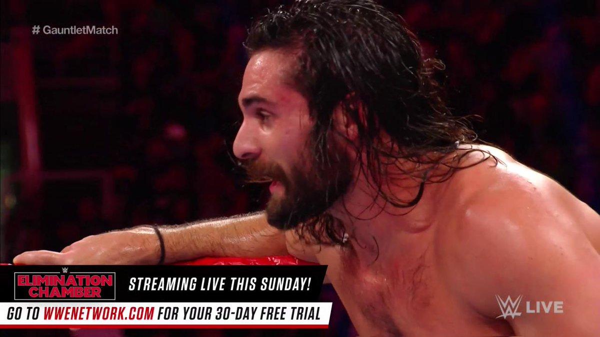 .@JohnCena vs. @WWERollins.  Let's keep...