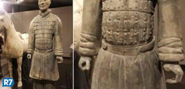 Autoridades chinesas pedem 'punição exemplar' para americano que roubou polegar de estátua de 2 mil anos https://t.co/UodiTEZBAS