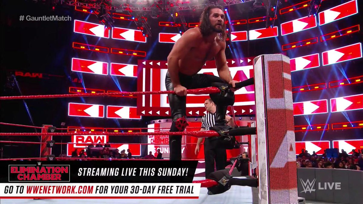WHAT A PERFORMANCE BY @WWERollins!!!!  #...