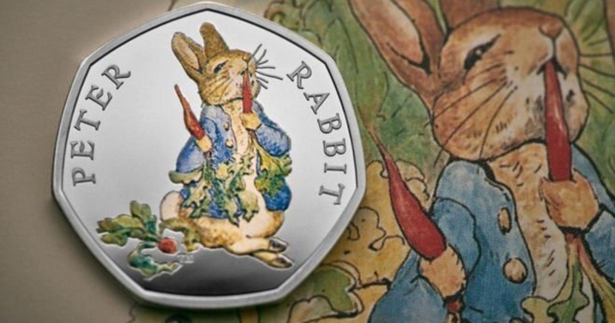 영국에서 피터래빗이 새겨진 50펜스 동전이 나온다(사진) https://t.co/KAj3haYgGi