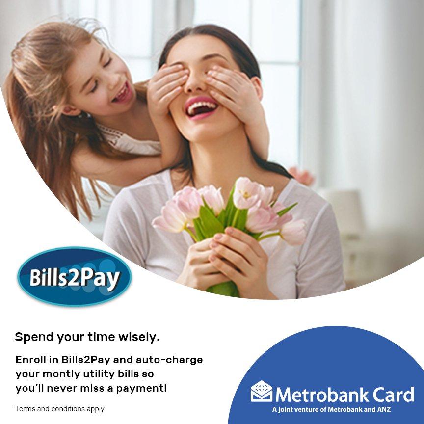Image result for Metrobank Bills2Pay