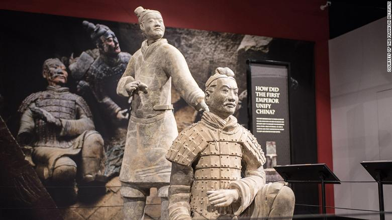 Delaware man charged with stealing a thumb from a 2,000-year-old terra-cotta warrior considered a 'priceless part of China's' heritage https://t.co/rubX9TmgKM