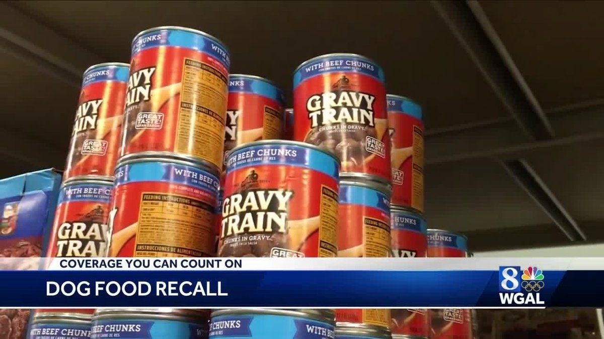 Canned dog food brands being recalled by J.M. Smucker https://t.co/wTlAdS26tH